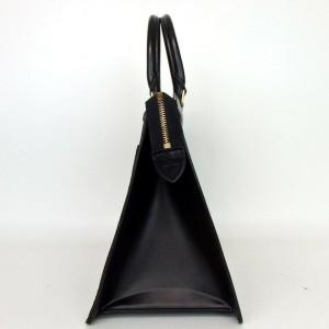 Louis Vuitton Black Epi Noir Riviera Vanity Tote Satchel 860020