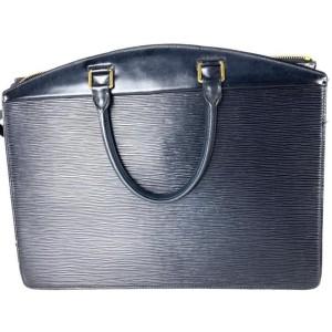 Louis Vuitton Black Epi Riviera Vanity Tote 10l613