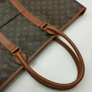 Louis Vuitton Large Monogram Weekend GM Zip Tote Bag 861767