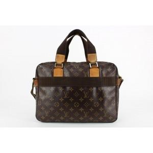 Louis Vuitton Monogram Sac Bosphore 2way Messenger Business Bag  23lvs1231