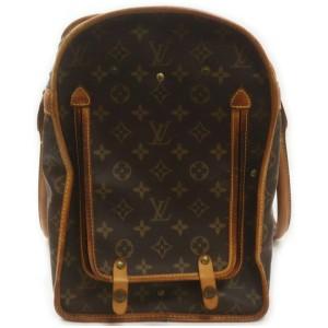 Louis Vuitton Monogram Sac Chien 50 Dog Carrier Pet Travel Bag 862766