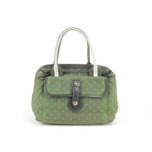 Louis Vuitton Khaki Monogram Mini Lin Sac Mary Kate 3LK1219