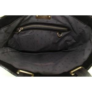 Louis Vuitton Dark Brown Soana Leather Gaston V Runway Sac Plat Tote
