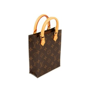 Louis Vuitton Monogram Nano Petit Sac Plat with Strap Mini Bandouliere 861431