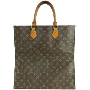 Louis Vuitton Monogram Sac Plat Shopper Tote 861422