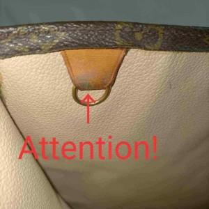 Louis Vuitton Monogram Sac Plat Tote 861158