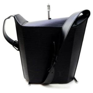 Louis Vuitton Black Epi Sac Seau 872911