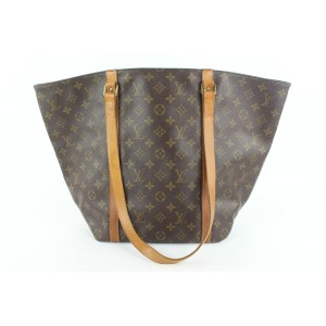 Louis Vuitton Monogram Sac Shopping PM Tote bag 932lvs415