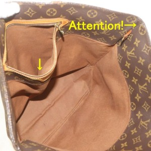 Louis Vuitton Monogram Sac Shopping PMTote bag 862659