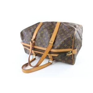 Louis Vuitton Damier Ebene Sophie 2way 870514 Brown Coated Canvas Cross Body Bag
