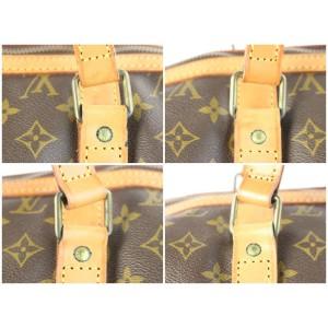 Louis Vuitton Sac Souple Monogram 45 2lz0629 Brown Coated Canvas Weekend/Travel Bag