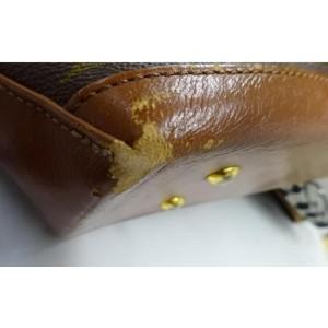 Louis Vuitton Monogram Sac Weekend PM Zip Tote Bag 861894
