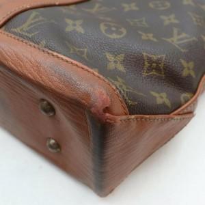 Louis Vuitton Monogram Sac Weekend PM Zip Tote 861687
