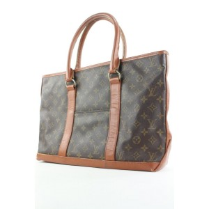 Louis Vuitton Monogram Sac Weekend PM Zip Tote bag 223lvs210