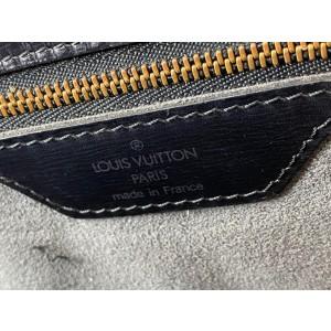 Louis Vuitton Black Epi Noir Leather Saint Jacques Zip Tote 46LVa1117