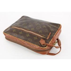 Louis Vuitton Monogram Pochette Marly Dragonne Wristlet Pouch 21lvs1231