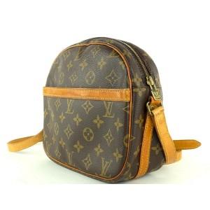 Louis Vuitton Monogram Sac Senlis Crossbody 14L1015