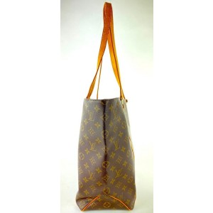 Louis Vuitton Monogram Sac Shopping Tote 6L1015