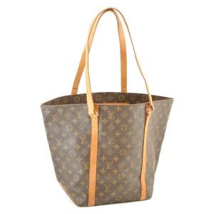 Louis Vuitton Monogram Sac Shopping Tote 860496