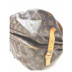 Louis Vuitton Louis Vuitton Shoulder Bag Saumur 35 Browns Monogram 861277