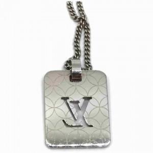 Louis Vuitton Dog Tag Necklace Pendant Champs-Elysees 860638