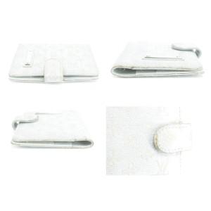 Louis Vuitton Mini Agenda Monogram Shine Silver Day Planner 20LKO122