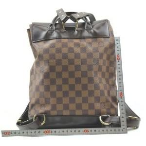 Louis Vuitton Damier Ebene Soho Backpack 862538