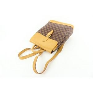 Louis Vuitton nniversary Centenaire Damier Ebene Arlequin Soho Backpack 281lvs512