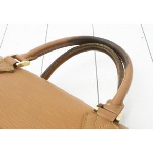 Louis Vuitton Brown Epi Sorbonne Briefcase Alma 860909