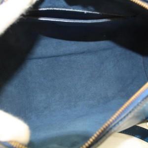 Louis Vuitton Soufflot Epi Toledo Cyllinder Boston 869546 Blue Leather Shoulder Bag