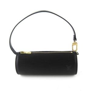 Louis Vuitton Black Epi Noir Soufflot Mini Papillon 2lva99