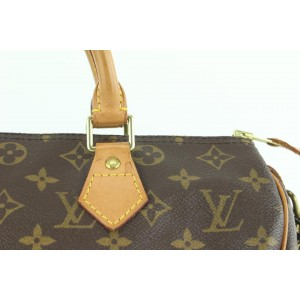 Louis Vuitton Medium Monogram Speedy 30 Boston Bag MM 215lvs55