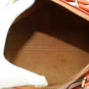 Louis Vuitton Speedy 25 869648 Brown Leather Satchel