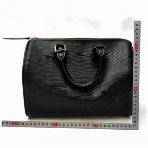 Louis Vuitton Black Epi Speedy 25 Boston PM 861025