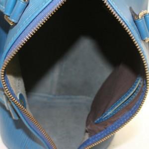 Louis Vuitton Blue Epi Speedy 30 Boston MM 861055