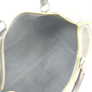 Louis Vuitton Black Epi Leather Speedy 35 Boston GM Bag  862239