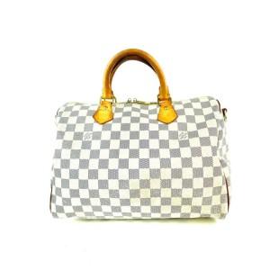 Louis Vuitton Damier Azur Speedy Bandouliere 30 4LVA911