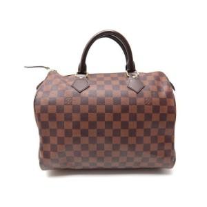 Louis Vuitton Damier Ebene Speedy 30 Boston MM 860867