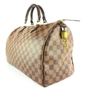 Louis Vuitton Damier Ebene Speedy 35 Boston GM 14LVA1019