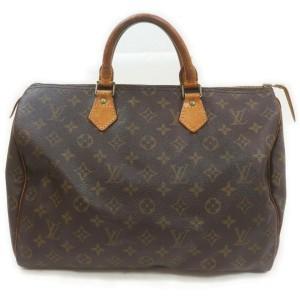 Louis Vuitton Monogram Speedy 35 Boston Bag GM 862210
