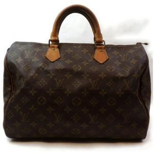 Louis Vuitton Monogram Speedy 35 Boston Bag 862620