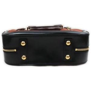 Louis Vuitton Havane Brown Suede Stamped Trunk PM Boston Speedy Bag 863005