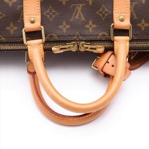 Louis Vuitton Monogram Keepall Bandouliere 55 Duffle 861243