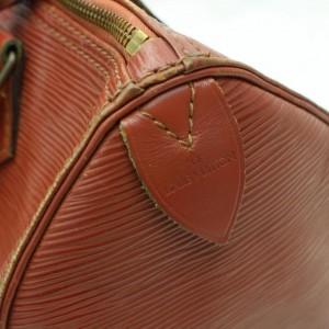 Louis Vuitton Kenya Brown Epi Speedy 30 859133