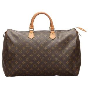 Louis Vuitton Large Monogram Speedy 40 Boston GM  860899