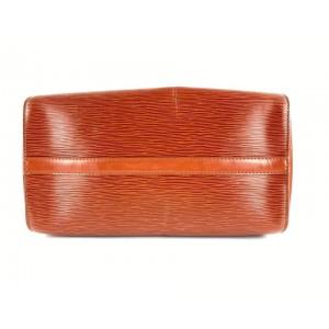 Louis Vuitton Brown Epi Leather Speedy 30 Boston MM 862140