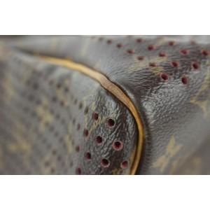 Louis Vuitton Limited Perforated Monorgam Fuchsia Speedy 30 Bag 275lvs512