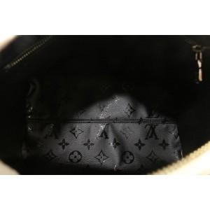 Louis Vuitton LVxUF Urs Fischer White Monogram Leather Speedy Bandouliere 25  7lvs16