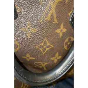 Louis Vuitton Macassar Monogram Speedy 25 Black 14L1016