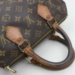 Louis Vuitton Monogram Speedy 25 Boston PM 861590